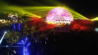 Light shows around China light up the atmosphere for Spring Festival