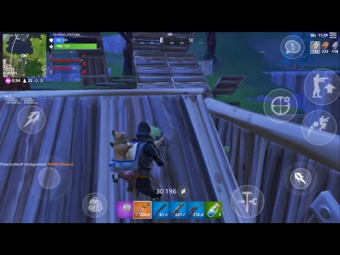 Pro Fortnite Mobile Player Season 6 Fortnite Mobile Live