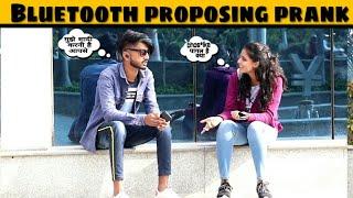 Bluetooth Prank-Proposing Cute Girls | Epic-reactions | prank in india | Jaipur tv