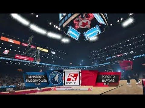 NBA 2K18 | Minnesota Timberwolves VS Toronto Raptors