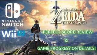 Zelda: Breath of the Wild – Amazing Review & Game Progression Details!
