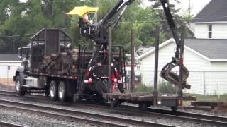 Railroad Track Equipment ( Tie Pick Up )