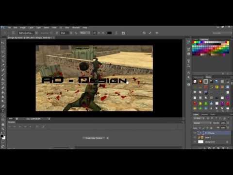 Si Te Bejm Counter Strike Design [Adobe Photoshop cs6]