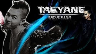 Taeyang - Stay With Me (ft. G-Dragon) lyric (rom/eng) MP3