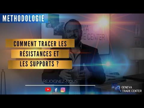 COMMENT TRACER LES RÉSISTANCES ET LES SUPPORTS
