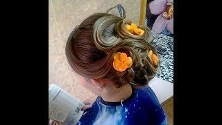 видео Свадебные прически с цветами