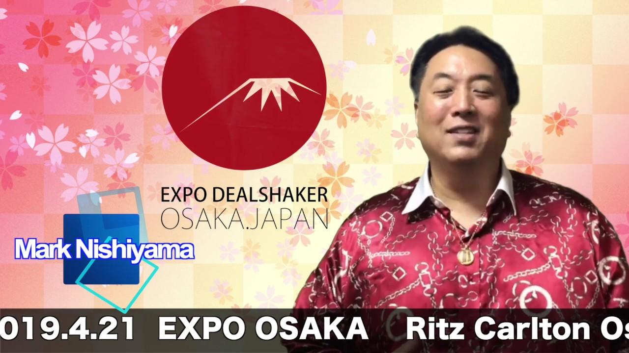 大阪 ニューディールシェーカー EXPO! NEW DEAL SHAKER OSAKA   JAPAN EXPO 2019.4.20〜4.21 One Coin  One Life  大阪エキスポ 4
