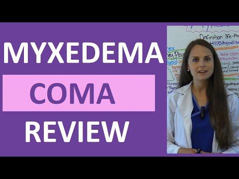 Myxedema Coma Nursing Pathophysiology Nclex Hypothyroidism