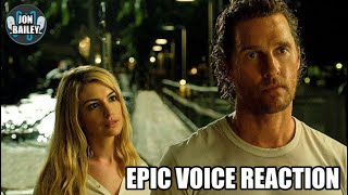 MCCONAUGHEY'S SERENITY TRAILER REACTION