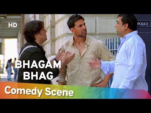 Bhagam Bhag - Akshay Kumar - Govinda - Paresh Rawal - Hit Comedy Scene - Shemaroo Bollywood Comedy