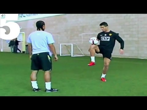 Cristiano Ronaldo AMAZING Freestyle Football Skills | #5 Silks