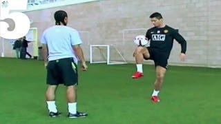 Cristiano Ronaldo AMAZING Freestyle Football Skills  5 Silks