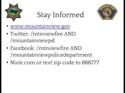 Mountain View Police and Fire Storm Information - Stayed Informed