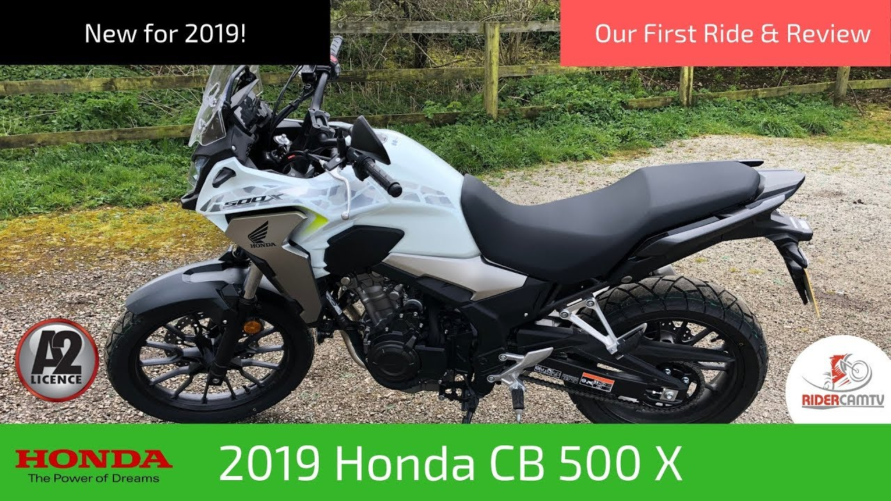 2019 Honda CB500X | Our First Ride and Review