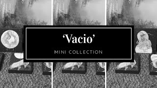The mini part / collection 'Vacio' / Acrylic mini paintings