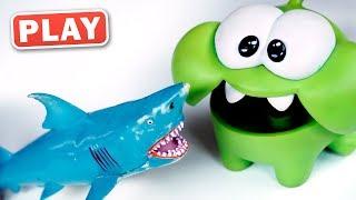 КУКУТИКИ PLAY - Злая Акула - Плей До - Торт для Акулы - Поиграйка с Пилотов Винтиком
