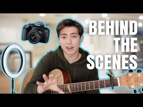Behind the Scenes with Andrew Foy - Creating my Youtube videos