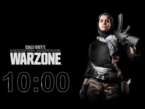 Warzone - 10 Minute Timer with Music