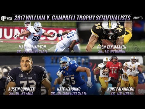 Five from MW Named Campbell Trophy Semifinalists