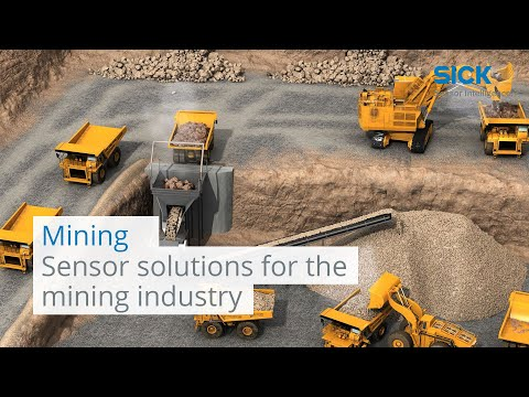 Sensor solutions from SICK for the mining industry | SICK AG