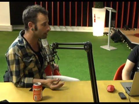 Entrevista a Santiago Oliver en la Radio FM Coca Cola