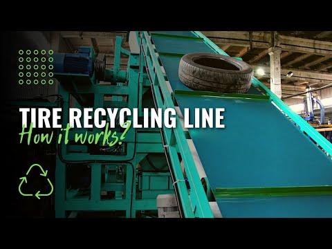 Tire Recycling Plant ATR-500 - Quality-Price | Alpha-SPK, Russia