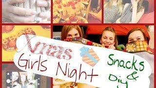 Xmas Girls Night ♡ Snacks And Diys ♡ Thumbnail