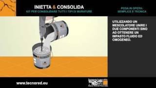 Inietta e Consolida - Consolidamento murature