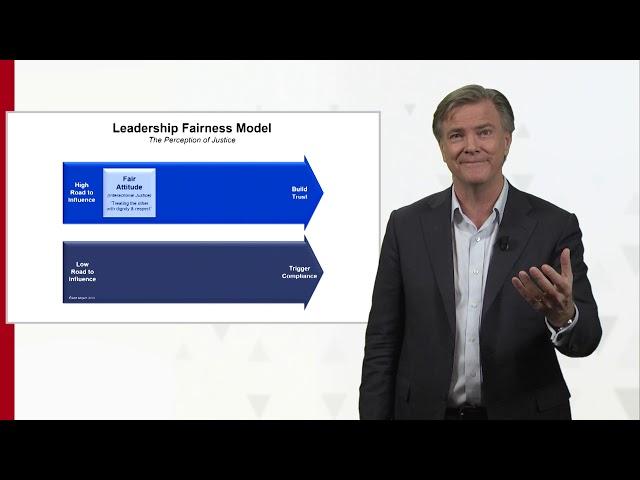 Ron Meyer -  Leadership Fairness Model