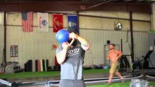 Kettlebell Halo for Shoulder ROM and Warmup