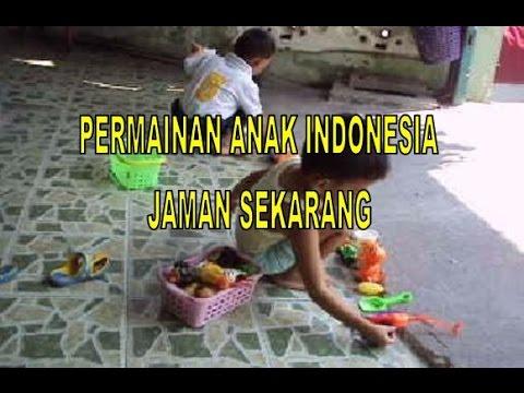 Permainan Anak Anak Indonesia Jaman Dulu Dan Sekarang Youtube
