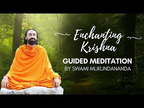 Meditation on enchanting Shree Krishna | Krishna's Pastime Meditation - Guided by Swami Mukundananda