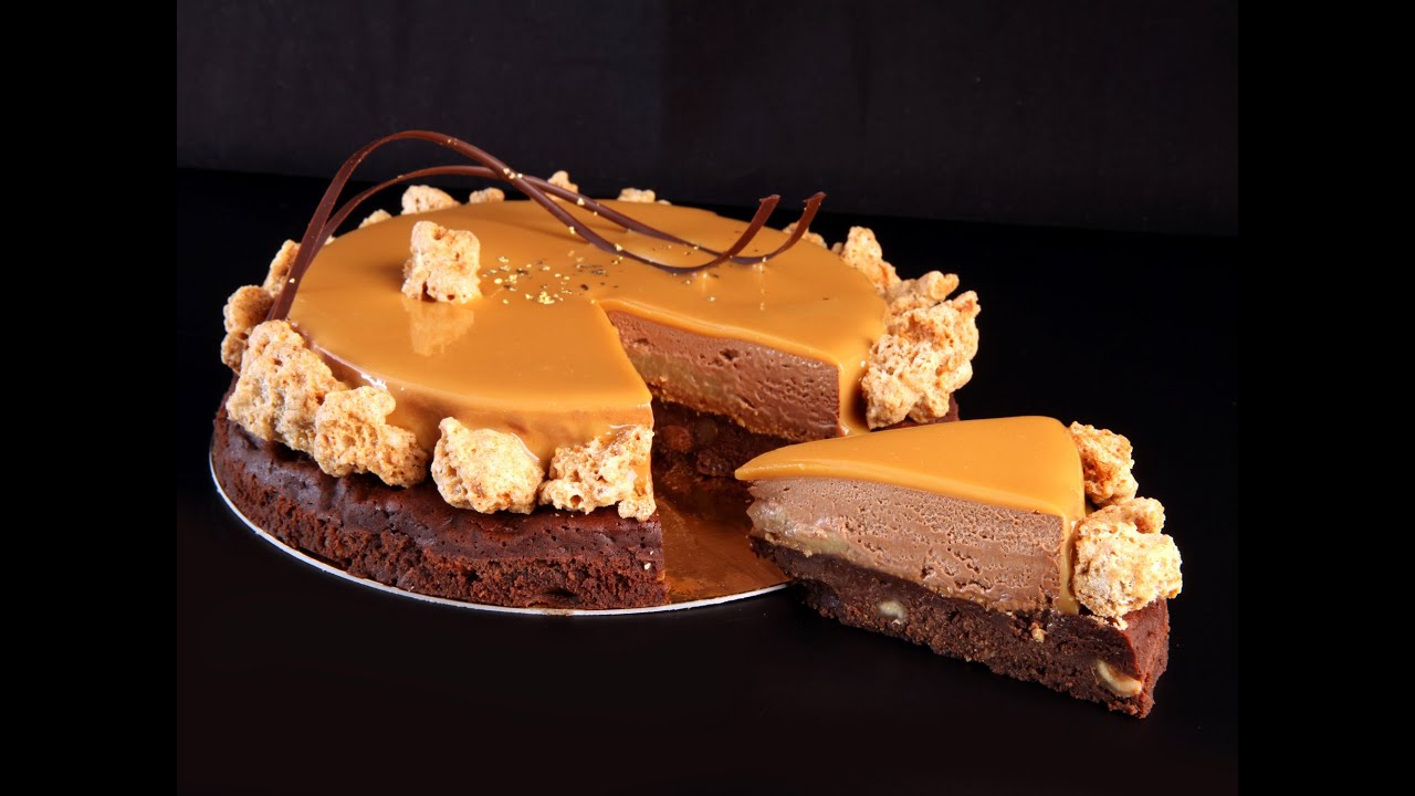 Dessert noel chef