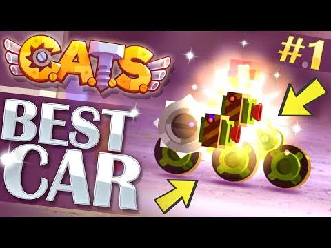 BEST CAR! | CATS Game Crash Arena Turbo Stars: Build & Testing #1
