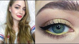 Летний макияж / золотой макияж глаз: видео-урок / Shaaanxo inspired