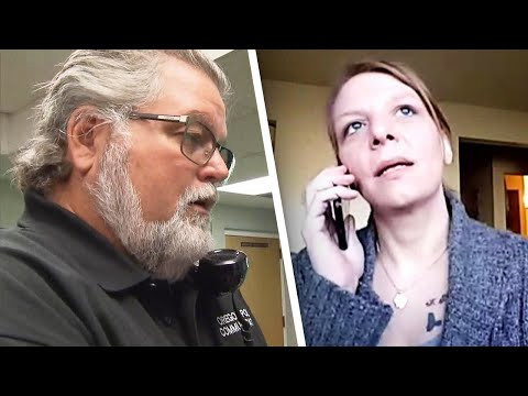 Michael J. - Why a woman called 911 and ordered pizza? It was the only to get help FAST