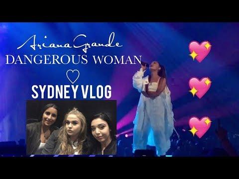Ariana Grande Dangerous Woman Tour Sydney VLOG - Elise Wheeler