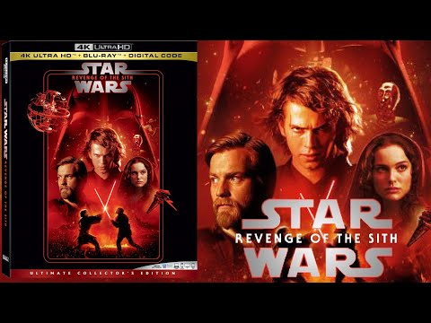 Star Wars Episode Iii Revenge Of The Sith 4k Blu Ray Unboxing Youtube