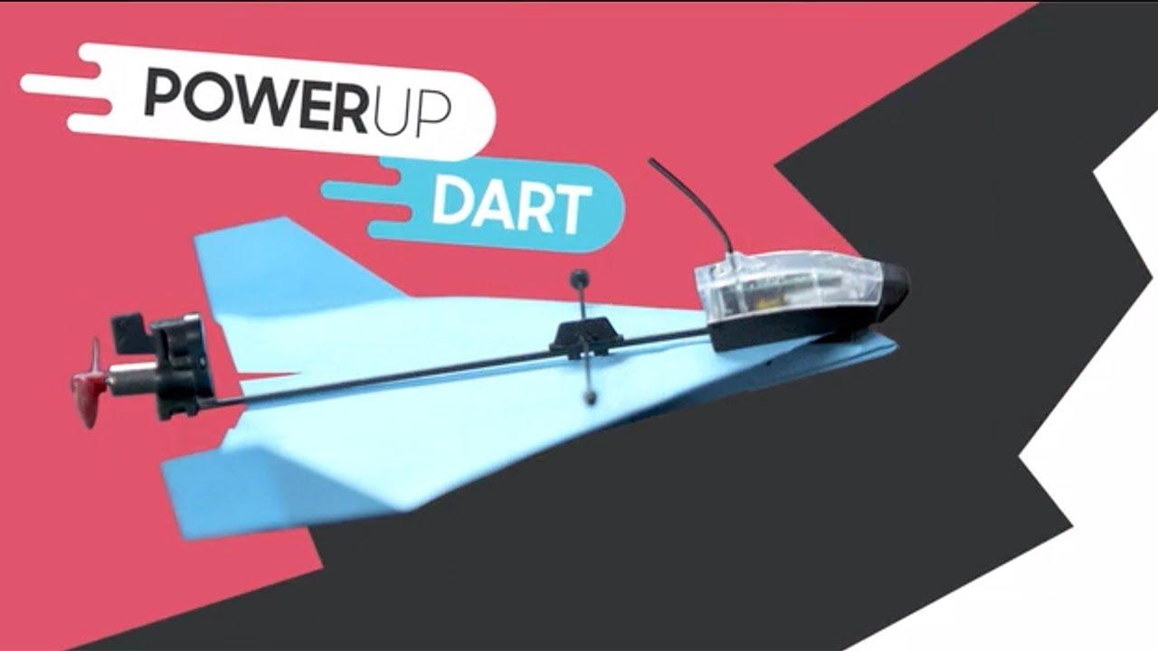 Powerup Dart Aerobatic App Controlled Paper Airplane Youtube