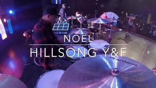 Noel by Hillsong Young & Free - Live Drum Cam 2016 (HD)