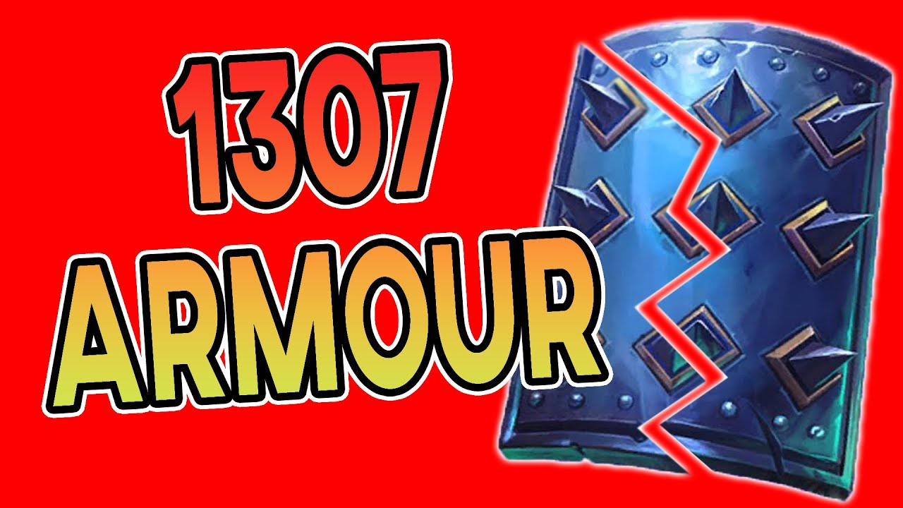 1307 Armour Druid Broken By A Fish & A Rat (Commentary)