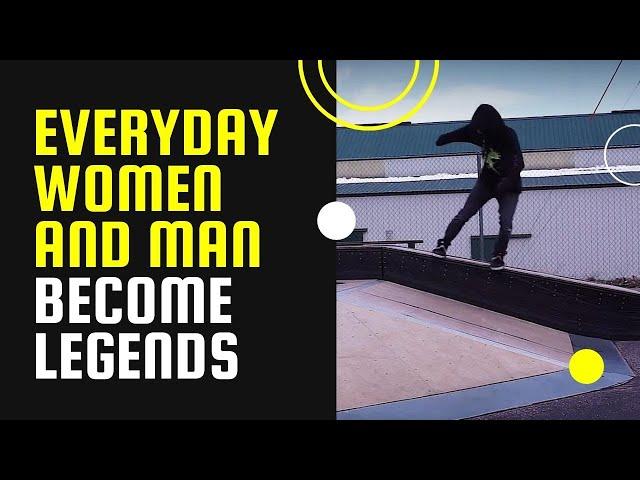 Everyday women and man become legends - Skidz GrindPlates