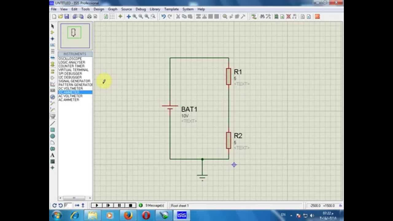 Lecture 7 Voltage Divider By Proteus Youtube Download Free Circuit Diagram
