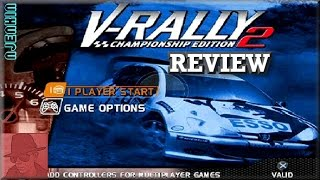 V Rally 2 : Championship Edition - PS1 - with Commentary !!