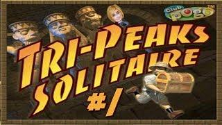 Pogo Games ~ Tri Peaks Solitaire #1