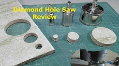 Diamond Hole Saw Review - Marble Cutter Hole Saw Review - Glass Cutter Hole Saw Review - Postbag 002