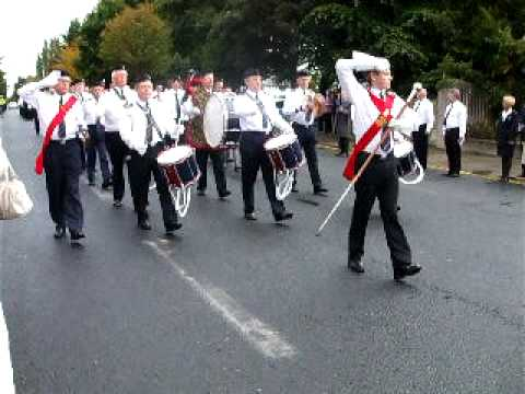 Some band members of The Stedfast Association attended The Boys' Brigade Council (Dublin) 2009