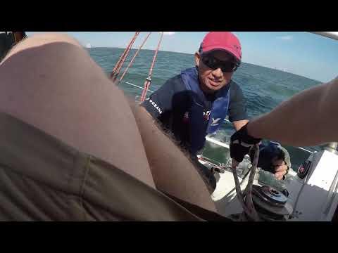 Tokyo Bay Sailing Practice October 7th 2018