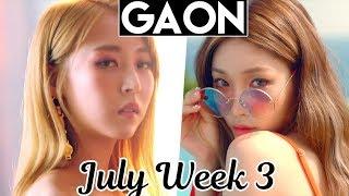 top 100 gaon kpop chart 2018 july week 3