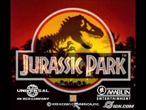Jurassic park SNES - music (The River)